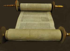 Torah Scroll Dedication Service